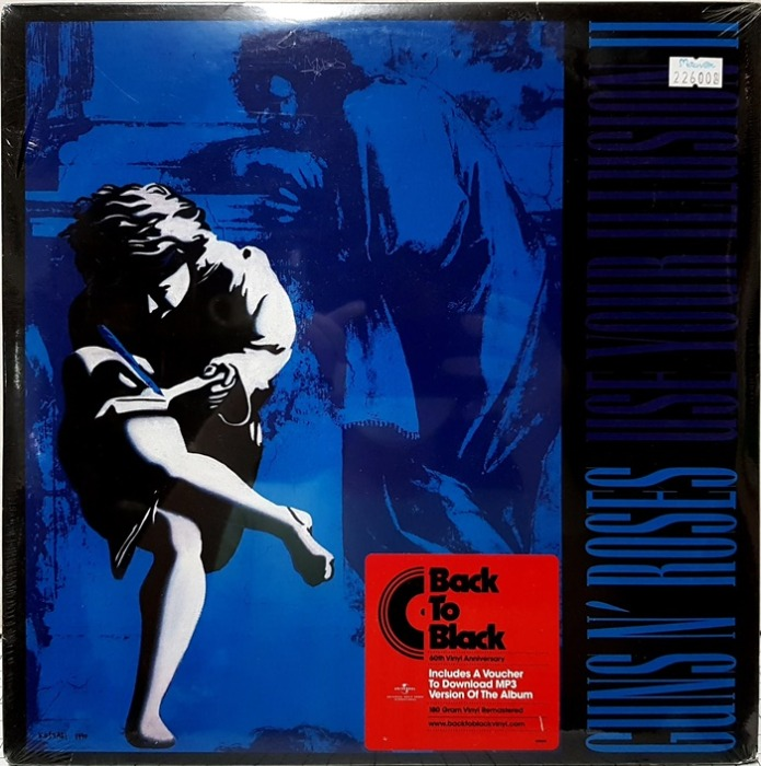 GUNS N' ROSES / USE YOUR ILLUSION 2 2LP(수입 미개봉)