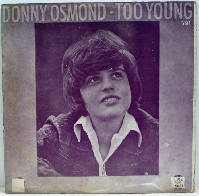 DONNY OSMOND / TOO YOUNG(카피 음반)
