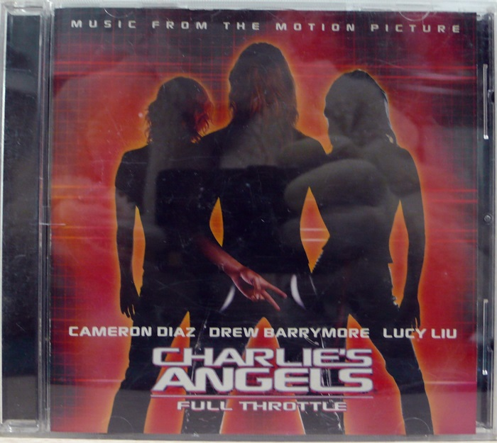 CHARLIE'S ANGELS ost CD