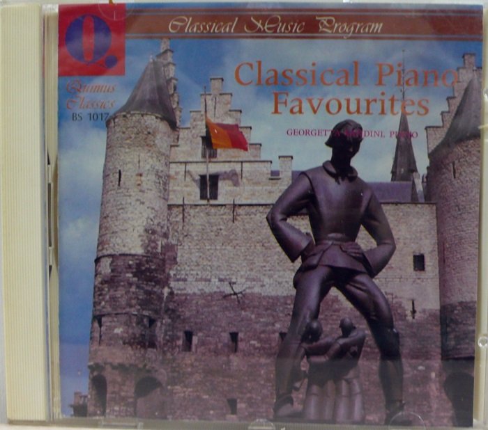 Classical Piano Favourites CD