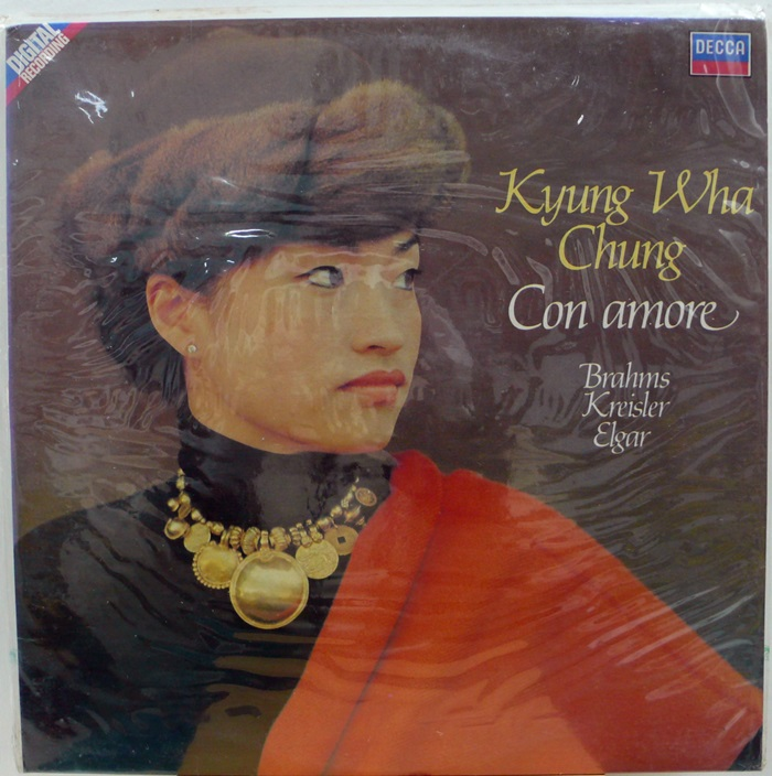 Kyung-Wha Chung(정경화) / Con amore(미개봉)