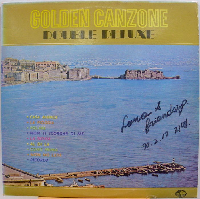GOLDEN CANZONE(칸소네) / DOUBLE DELUXE 2LP