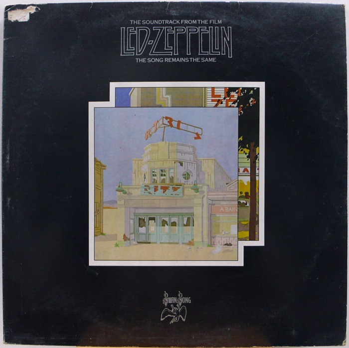 LED ZEPPELIN / THE SONG REMAINS THE SAME 2LP