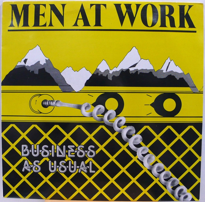 MEN AT WORK / BUSINESS AS USUAL