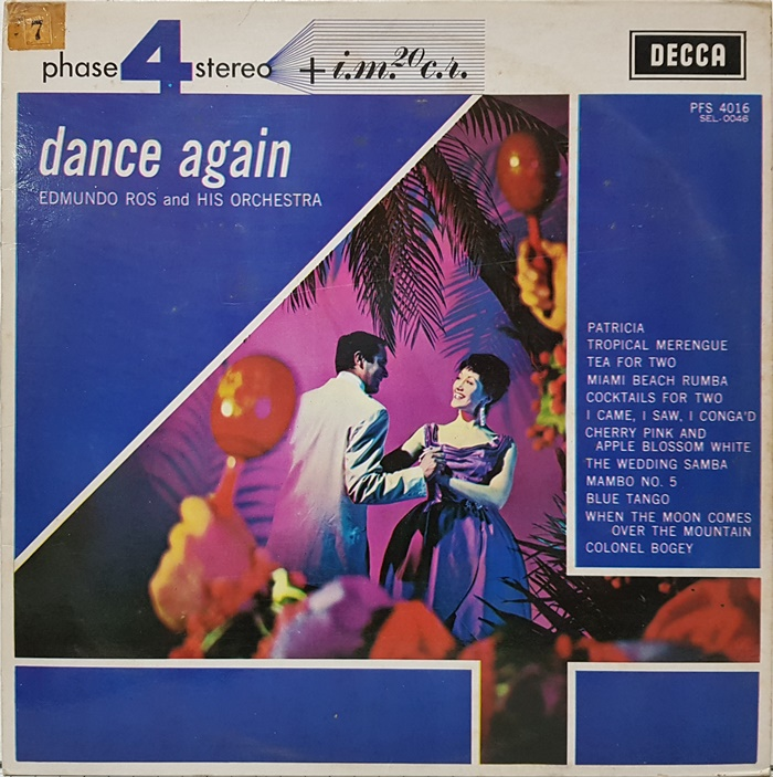 dance again / EDMUNDO ROS