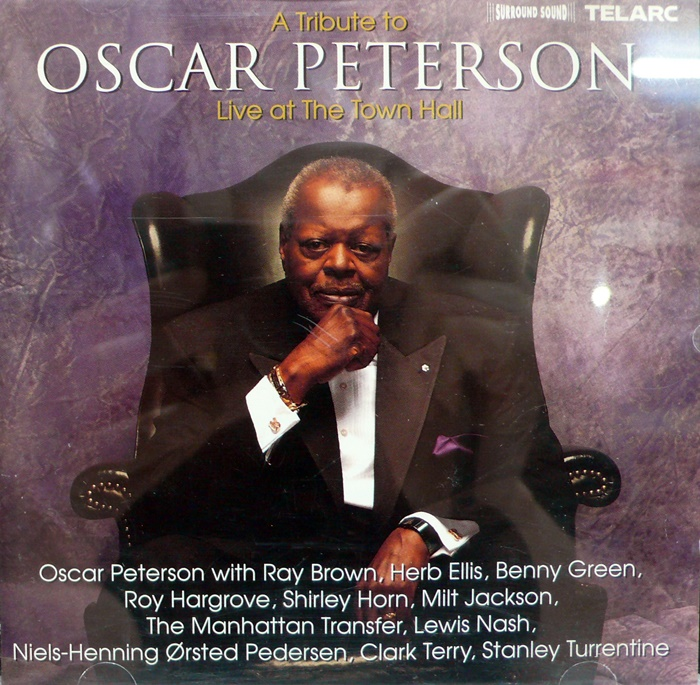 OSCAR PETERSON / Live At The Town Hall(수입)