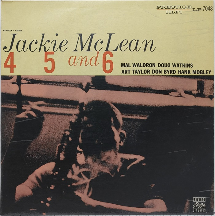 JACKIE McLEAN / 4, 5 and 6