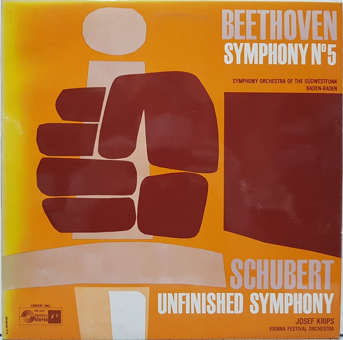 Beethoven Symphony No.5 Schubert Unfinished Symphony / JOSEFF KRIPS(수입)