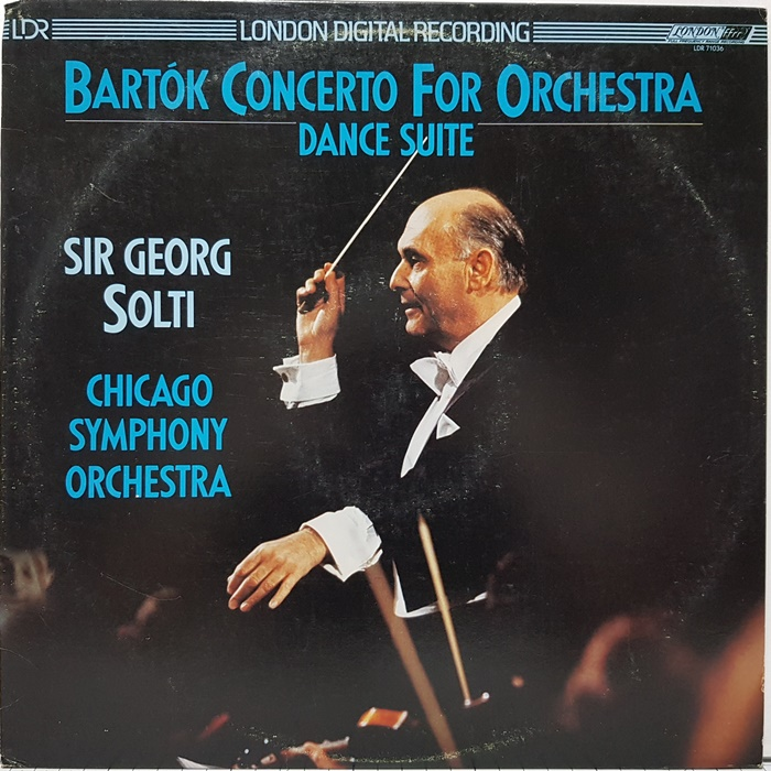 CONCERTO FOR ORCHESTRA DANCE SUITE / SIR GEORG SOLTI(수입)