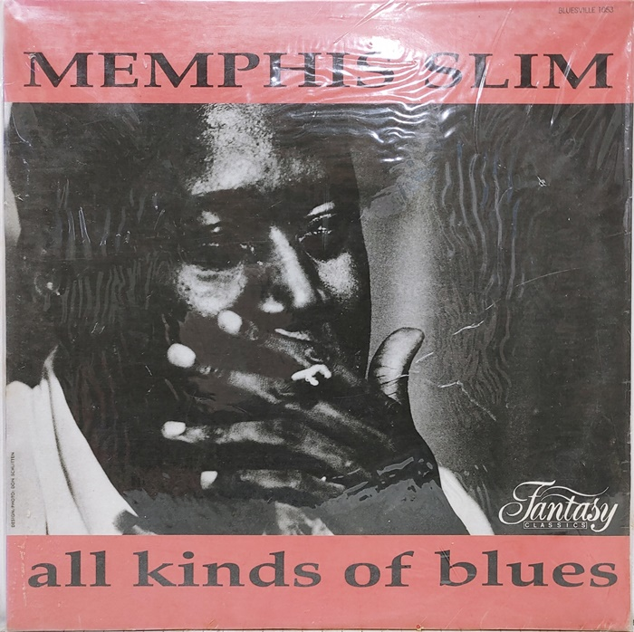 MEMPHIS SLIM / ALL KINDS OF BLUES(미개봉)