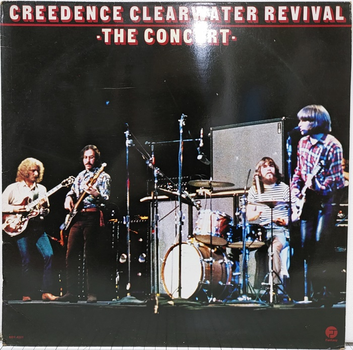 C.C.R / CREEDENCE CLEARWATER REVIVAL THE CONCERT