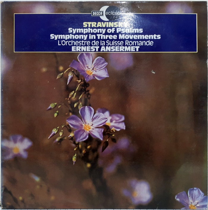 STRAVINSKY : Symphony of Psalms, Symphony in Three Movements