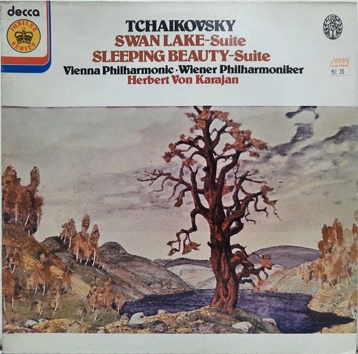 Tchaikovsky : Swan Lake, Sleeping Beauty Herbert von Karajan(수입)