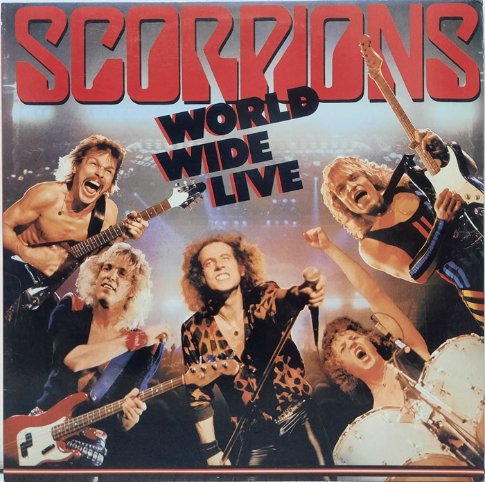 SCORPIONS / WORLD WIDE LIVE 2LP