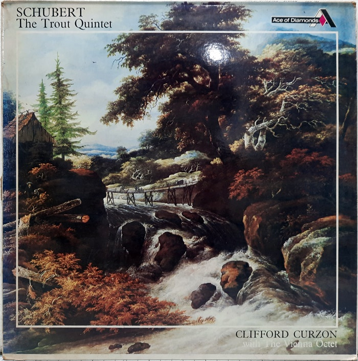 SCHUBERT / The Trout Quintet Clifford Curzon